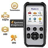 Autel MaxiLink ML629 Strumento Diagnostico Auto OBD2 Scanner Lettore Codice Auto per ABS, SRS,...