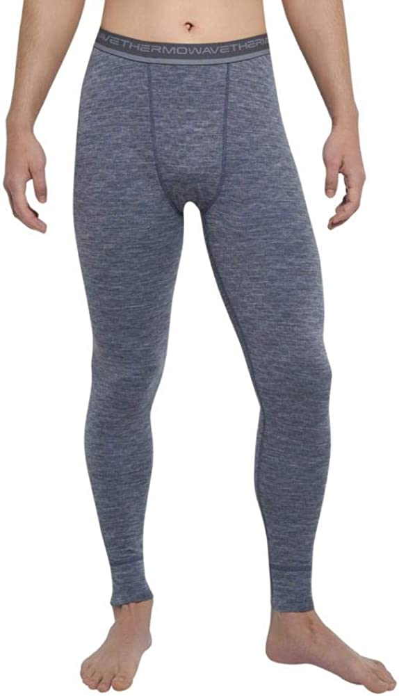 Thermowave - Merino Xtreme Mens Dark Pants G Fashionable Challenge the lowest price of Japan ☆ Wool Thermal