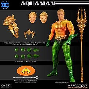 Figura Aquaman 17 cm. One:12. DC Cómics. Mezco Toyz 7