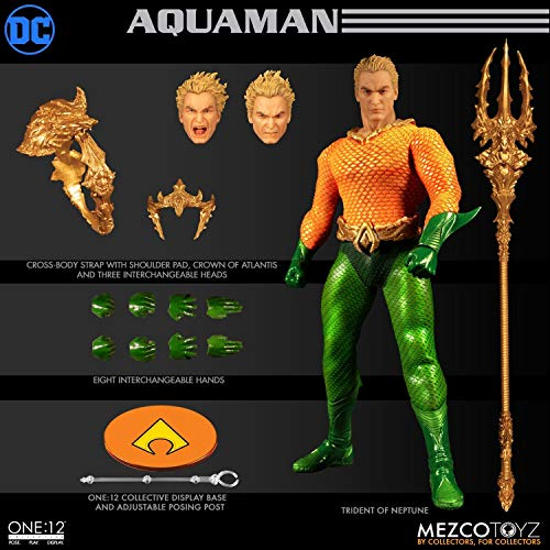 Mezco DC Comics The One:12 Collective Aquaman Action Figure Standard