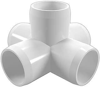 CIRCOPACK 1 3-way PVC Fittings Furniture Grade 2 pieces