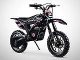 Pocket Cross Électrique 500W / Mini Moto Enfant ORION 500W / Édition 2021 / Rose