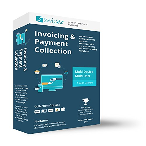 GST Ready Billing and Invoicing Software - 1 year,...
