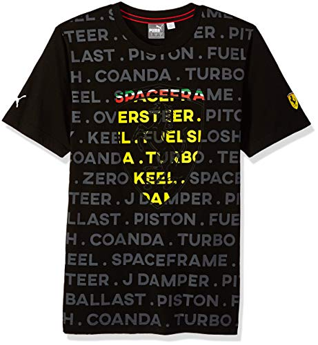 PUMA Men's Scuderia Ferrari Big Shield T-Shirt
