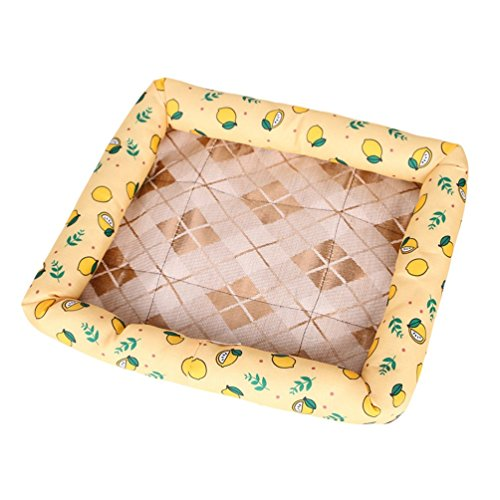 Yiiquanan Sommer Haustier Hunde-Bett, Outdoor Hundebett Hundekissen Hundesofa für Kleine Hunde und Katzen (Style#5, Asia M)