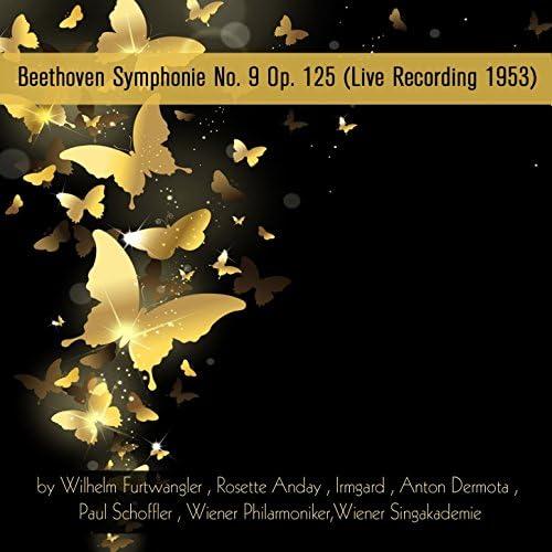 Wiener Singakademie, Wilhelm Furtwangler & Rosette Anday