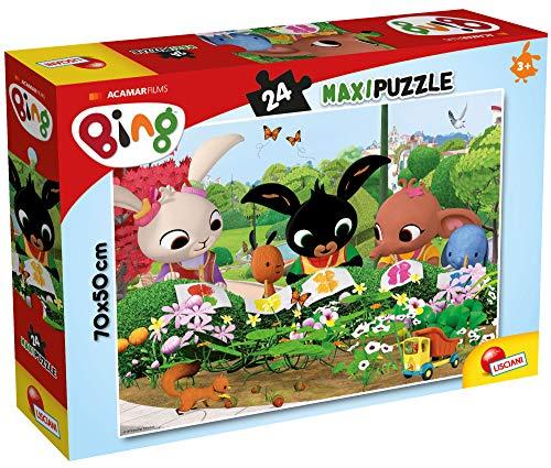 Lisciani Giochi- Osserviamo La Natura Maxi Puzzle, 24 Pezzi, Multicolore, 81219