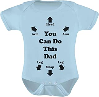 Tstars You Can Do This Dad - Funny Gift for New Dads Cute Baby Boy/Girl Bodysuit