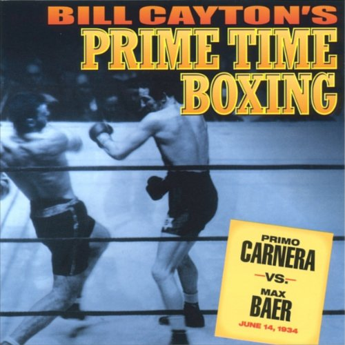 Primo Carnera vs. Max Baer audiobook cover art