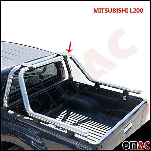 Roll-bar in acciaio inox 60mm per Mitsubishi L200dal 2015in poi
