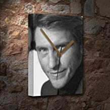 DENIS LEARY - Canvas Clock (LARGE A3 - Signed by the Artist) #js001