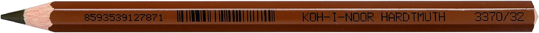 Koh Regular dealer I noor Max 56% OFF Jumbo Coloured Pencil - Set of 12 Sienna Natural