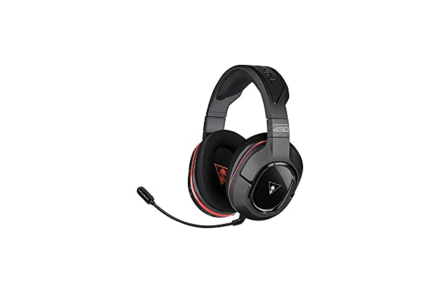 cb12760fdac Amazon.com: Turtle Beach Ear Force Stealth 450 Fully Wireless PC Gaming  Headset with DTS Headphone:X 7.1 Surround Sound: Computers & Accessories