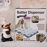 Red : Pancake Batter Dispensers Cake Dispenser Excellent Cake Division Baker Necessary Simplified