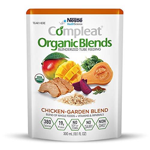 Compleat Organic Blends Chicken-Garden, 10.1 fl oz Pouch, 24 Count