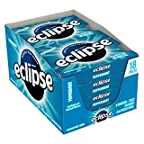 ECLIPSE Peppermint Sugar Free Chewing Gum, 18 Pieces (8 Packs)