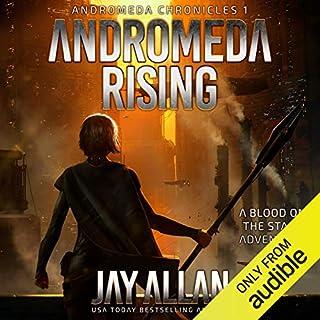 Andromeda Rising audiobook cover art