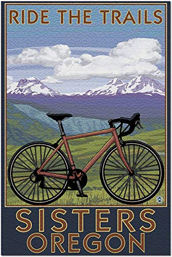 Sisters, Oregon - Mountain Bike 500 Pieces Jigsaw Puzzle for Adults