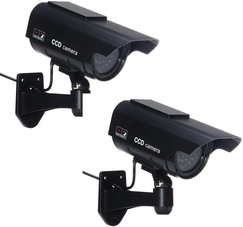 Eight Horses-S Black2 Outdoor Dummy High Minneapolis Mall material C CCTV Security Camera
