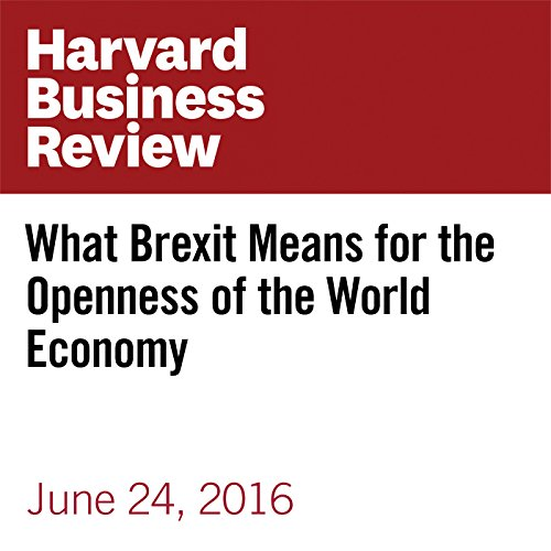 What Brexit Means for the Openness of the World Economy copertina