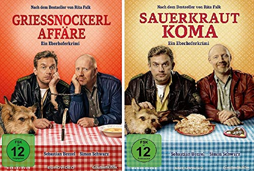 Eberhofer - Grießnockerlaffäre + Sauerkrautkoma im Set - Deutsche Originalware [2 DVDs]