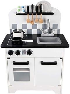 DWLXSH Little Cooks Kitchen | Play Kitchen for Toddlers & Toy Accessories Set | Kindergarten Puzzle Simulation Kitchen Coo...