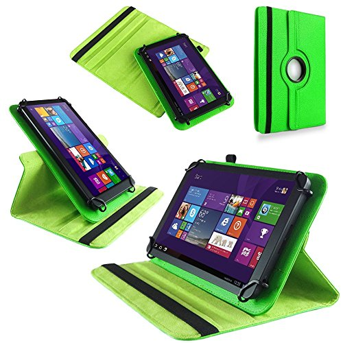 UC-Express Tasche Hülle Cover für Jay Tech Tablet PC X10F1 Case Schutz Tablet Schutzhülle, Farben:Grün