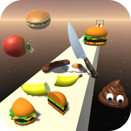 Challenge and cut the blob delicious food in the cube into slices and don't make fat body so race and be the runner and surfer 2 fit your high score among champions