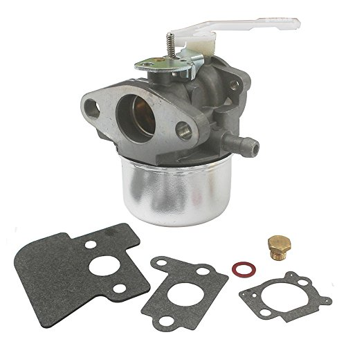 KIPA Carburetor for Briggs & Straton 690152 694203 698055 Lawnmower Generator Used on 121600 and Up Series Engines Manuel Choke with Mounting Gaskets