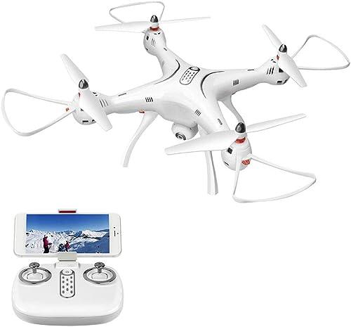 AIUYER Drone Quadrocopter mit Kamera HD Riesen FPV mit GPS und Fernbedienung RC Easy zum