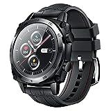 CUBOT Smartwatch, 1.3 Zoll Touchscreen Fitness Tracker, Business Armbanduhr, 5ATM Wasserdicht Schrittzähler, für iOS/Android, für Herrn Damen, Schwarz