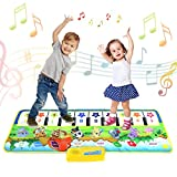 Kids Piano Mat,Toddlers Kids Toys Age 1 2 3 4 5 Year Old Girls Boys Music Dance Mats Touch Play Mats Floor Keyboard...