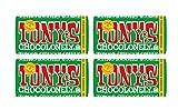 Tony's Chocolonely   Pack of 4   32% Milk Hazelnut Chocolate Bar, 6.35 Oz Each