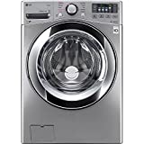 LG WM3670HVA 4.5 Cu. Ft. Graphite Steel With Steam Cycle Front Load...