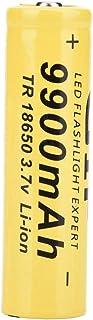9900mAh lithiumbatterij, 18650 Li-ion batterij oplaadbare 3.7V 18650 Li-ion oplaadbare batterij voor zaklamp voor koplamp