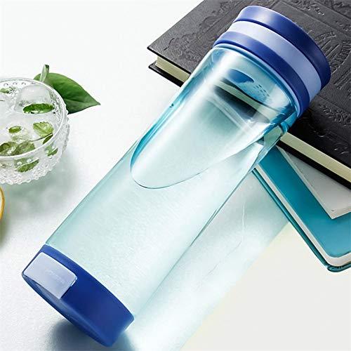 CGMZN Wasserglasbeutel 600 ml bouteille D'eau Avec téléphone Stand étudiant loisirs bouteille bouteille étanche Voyage bouteille créatif en Plastique Sport EAU bouilloire
