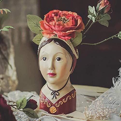 Rishx Russische Mädchen Kopf Vase...