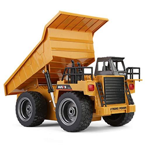 HSKB Ferngesteuertes RC Wireless Truck, Bagger Traktor LKW Digger Auto 2.4G 1:18 RC Truck 6CH Fernbedienung...