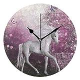 LISUMAL Licorne à la roseraie été Papillons Volants Romance Fairy Tail Art à...