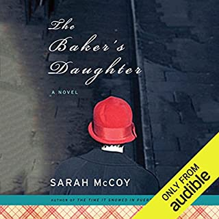 The Baker's Daughter                   Written by:                                                                                                                                 Sarah McCoy                               Narrated by:                                                                                                                                 Elisabeth Rodgers                      Length: 11 hrs and 46 mins     1 rating     Overall 5.0