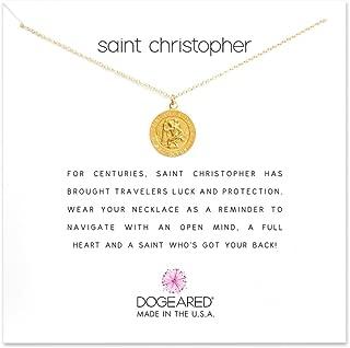 Saint Christopher Necklace Saint Christopher, 18