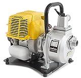 ✦ WASPPER PC107 ✦ Pompa Acqua Portatile & Professionale Flusso 7500 l/hr ✦ Sollevamento Acqua 35 m ✦ Motore a Benzina 9000 RPM con Accessori Inclusi