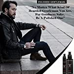 Natural Beard Growth Oil for Men - with Cedarwood & Tea Tree Oil - Easy Beard Dispenser and Pump - Natural Conditioner… 4