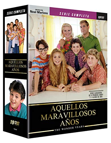 Aquellos Maravillosos Años 19 DVDs Serie Completa The Wonder Years