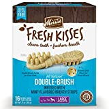 Merrick 66055 Fresh Kisses Oral Care Dental Dog Treats for Large Dogs Over 50 Lbs