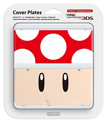 Nintendo - Cubierta Toad, Color Rojo (New Nintendo 3DS)