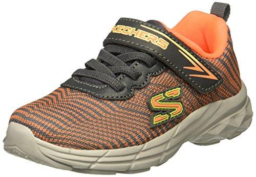Skechers Schoenen met klittenband en Elastische ECLIPSOR 95030N Grijs/Oranje