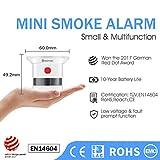 Immagine 1 heiman sensore fumo mini rilevatore