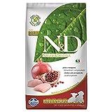n&d low grain n&d n& d grain free puppy small & medium con pollo secco cane kg. 2,5, multicolore, unica
