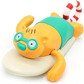Licogel Child Bath Toy Pull String Animal Bathtime Toy Bathtub Toy Water Play Toy for Toddlers Fun Funny Safe Cartoon Kids...